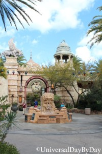 Islands of Adventure - The Mystic Fountain - UniversalDayByDay